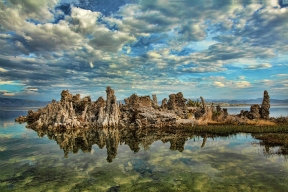 Mid-Morning Reflections, Mono Lake